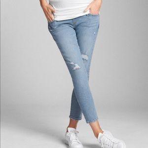 NWT GAP True Skinny Crop Maternity Jeans